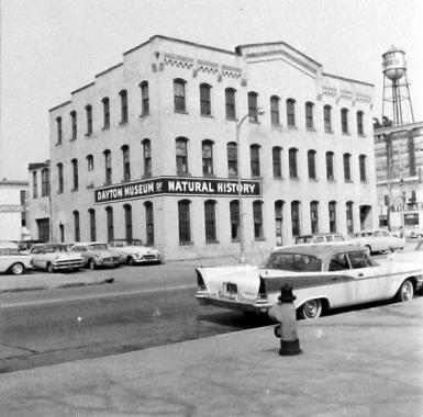 DMNH_1958_Roberts Pump Building location at 251 E. Second Street, 1941-1958